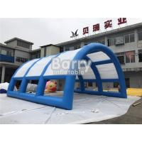 China Customized Size Durable Inflatable Event Shelter Tent With Tunnel on sale