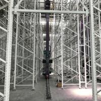 China Industrial Automatic ASRS Racking System Warehouse Automated Storage Crane System on sale