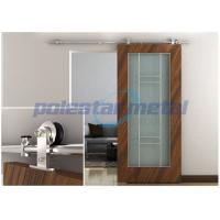 Cheap 2000mm Decorative Door Hardware Stainless Steel Sliding Barn Wood Door Hardware for sale
