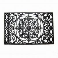 China Cast Iron Door Mat, Various Designs are Available on sale