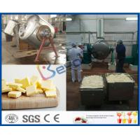 China Integrated Cow Milk / Buffalo Milk Butter Maker Machine For Butter Manufacturing Process on sale