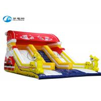Quality Christmas slide inflatable slide inflatable amusement bouncer children game equipment wholesale