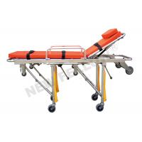 China Foldable Aluminum alloy  Ambulance Stretcher Trolley , Patient Transport  Trolley on sale