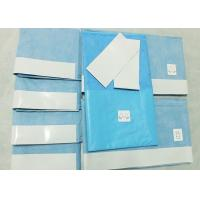Quality Hygeinic Disposable Surgical Packs , General Delivery Sterile Surgical Drapes wholesale