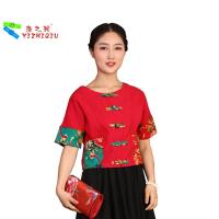 Quality New designs Chinese Traditional Blouses For Women wholesale