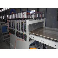 Quality Durable PVC WPC Foam Board Machine for Door Board Making , Power Motor wholesale