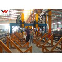 Cheap Professional H / I Beam Flange And Seam Welding Line Automatic Welding Machine for sale