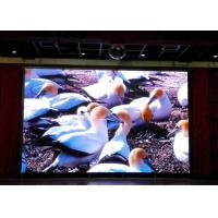 Buy cheap P4 / P5 / P6 Indoor Led Display Signs With 5500k - 8000k Color Temp , 2000Hz+ Refresh Rate product