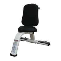 Quality COC Weight Bench Rack Small Utility Exercise Bench Customized Color wholesale