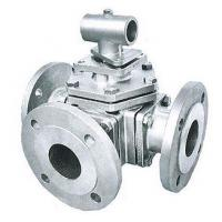Cheap L Port T Port Trunnion Ball Valve High Precision With ISO Mounting Pad 3 Way for sale