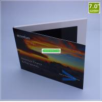 Quality Chinese Homemade Video Brochure, 7 Inch LCD Screen Greeting Card wholesale