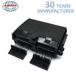 Quality 16 Port Outdoor Fiber Distribution Box Black Outdoor Optical Distribution Frame wholesale