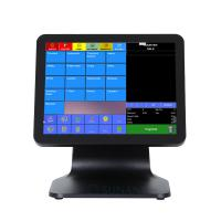 China Sunany windows OS 12'' touch screen POS terminal J1900 for restaurant point of sale system cashier register machine on sale