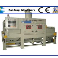Quality Anti Explosion Automatic Sandblasting Machine Compact Working Cabinet For Steel Plate wholesale