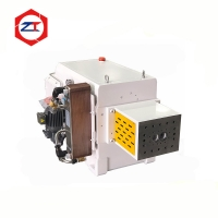 China Cast Iron 15 Torque PET PP 150mm Twin Screw Extruder Parts on sale