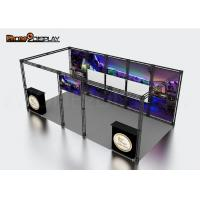 Quality Attractive Aluminum Trade Show Booth Tension Fabric Light Box For Expo wholesale