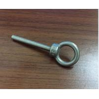 Cheap M3 M4 M5 M6 Stainless Steel Bolt , Lifting Stainless Steel Eye Bolts With High Precise for sale