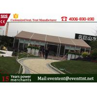 Quality Rot - proof Big Size White Aluminum Large Frame Tent For Party / Events wholesale