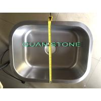 Quality Silver Stainless Steel Wash Basin , Simple Sink Fit Toilet And Kitchen wholesale