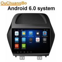 Quality Ouchuangbo auto radio gps navigation android 6.0 for Hyundai IX35 with 1080P video music bluetooth steering wheel contro wholesale