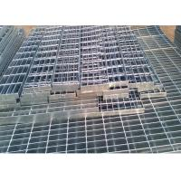 Quality Self Color Mild Steel Grating , Fire Brigade Driveways Galvanised Grid Flooring wholesale