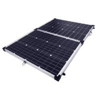 China 18V 10W Portable Folding Solar Panel Kits Sunpower Waterproof Connection Box For Boat on sale