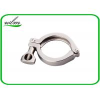 Quality Hygienic Heavy Duty Pipe Clamps DIN ISO 3A SMS Standard With Highly Sealing wholesale