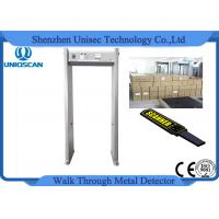 Quality CE/ISO certificated Single zone metal detector security walk through safety gate wholesale