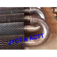 Fired Heater Serrated Fin Tube , Helical Finned Tube With Aluminum / Steel Material