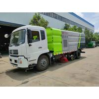 Quality Dongfeng 9000 Liters Water Mechanical Sweeper Truck , 9 Ton Street Washing Truck wholesale