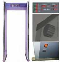 Quality ABNM600M easy operation 6 zones walk through metal detector with LED alarm lights wholesale