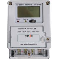 China 1 Phase Wireless Watt Meter Plc G3 Smart Electric Meters With Plug - In Module on sale