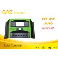 China 50A PWM solar charge controller 12V/24V/48V solar battery charging controller on sale