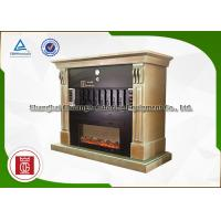 Quality 8 Spaces Electric Fish Grill Machine European Fireplace Flame LED Simulation wholesale