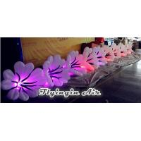Quality Led Inflatable Flower Chain, Inflatable Wedding Flower String for Sale wholesale