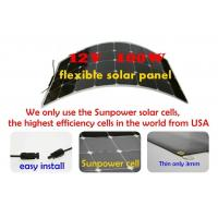 Quality Nicely Flexible solar panel 180W~210W sunpower cell panel lower cost wholesale