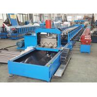 Quality Thrie Beam Highway Guardrail Roll Forming Machine With Servo Flying Cutoff wholesale