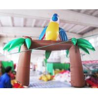 Buy cheap 6m Inflatable Parrot Arch with Blower for Outdoor Advertisement or Decoration product