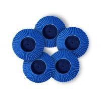 Cheap Fine Grit Mini Flap Disc Zirconia 50mm100mm Multi Size Available 8mm Thick for sale