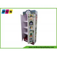 Quality ODM / OEM Stand Up Product Cardboard Pop Displays For Clothes Promotion wholesale