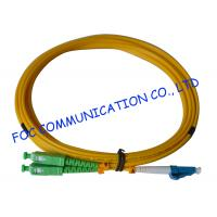 Quality G.652D SM Duplex Indoor Type Fiber Optic Patch Cord With OFNP Cable wholesale