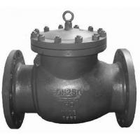 China Full Opening Swing Check Valve Full Face With RF Flange Ends 600 Class As Per ASME B 16.34 on sale