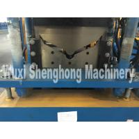 Cheap Colored Sheet Corrugated Roll Forming Machine , Ridge Cap Forming Machine for sale