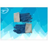 Quality Seamless Disposable Medical Gloves , Full Finger Powdered Latex Gloves wholesale