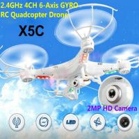 Cheap X5C 2.4GHz 4CH 6-Axis GYRO RC Quadcopter Drone Toy 2MP Fly Camera Recorder 360° Eversion for sale