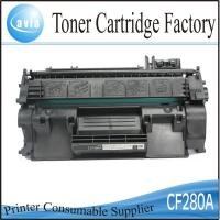 China Black toner cartridge 280a for HP laserjet 400m 401dn printers on sale