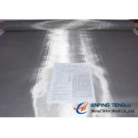Buy cheap Fine Stainless Steel 316 316L Wire Cloth, 400Mesh Plain Weave 0.03mm Wire 1m from wholesalers