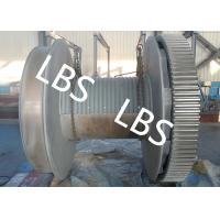 Quality High Strength Steel Anchor Winch Drum / Rope Winch Drum RINA NK Approved wholesale