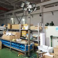 Quality 6m vehicle side mounting move lighting tower- 6000W lamps wholesale