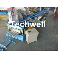 Quality Galvanized Steel Floor Deck Roll Forming Machine for Making Steel Structure Floor Decking Panel wholesale
